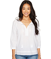 NYDJ Petite - Petite Embroidered Voile Top