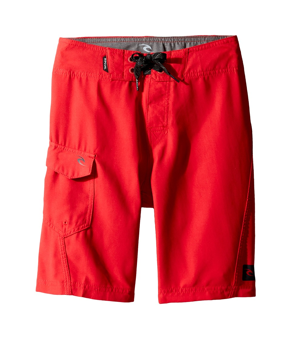 Rip Curl Kids Dawn Patrol Boardshorts (Big Kids) (Red) Boy
