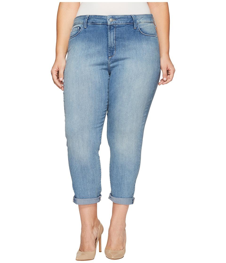 NYDJ Plus Size - Plus Size Alina Convertible Ankle in Palos Verdes (Palos Verdes) Womens Jeans