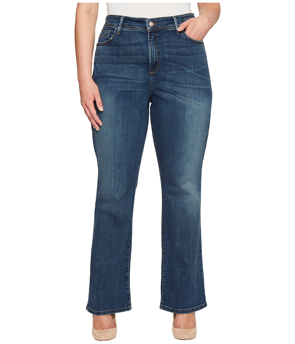 NYDJ Plus Size Plus Size Billie Mini Bootcut in Oak Hill (Oak Hill) Women