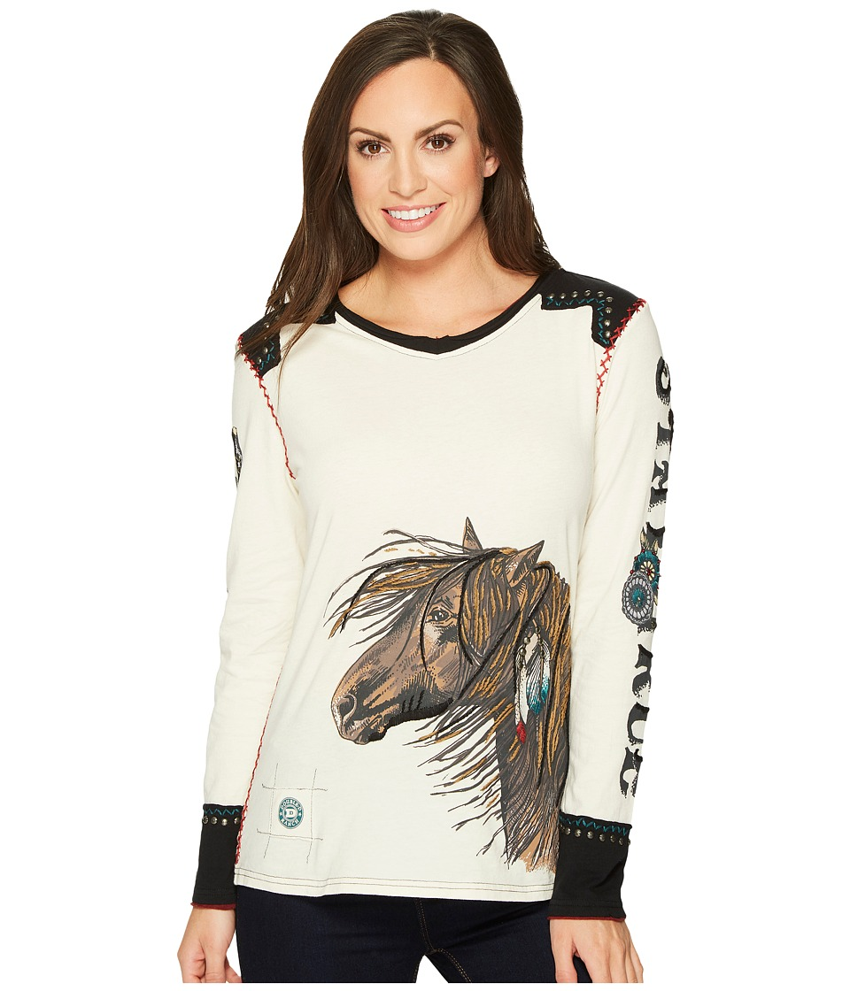 Double D Ranchwear Restless One Tee (String) Women