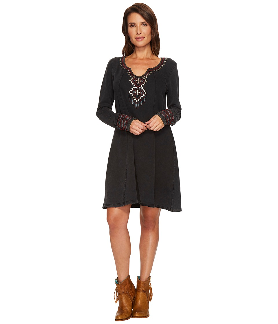 Double D Ranchwear - Gaspe Dress (Black) Womens Dress