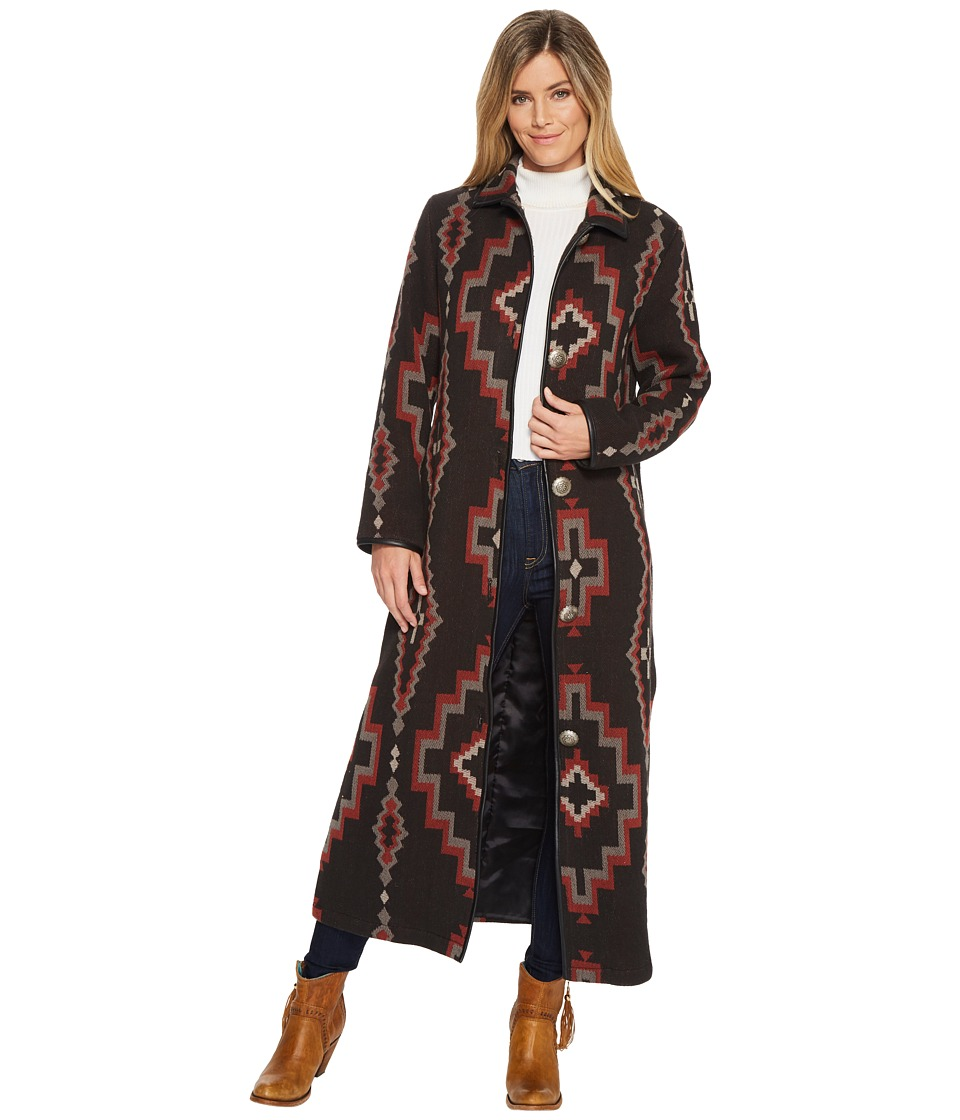 Double D Ranchwear - Cross Canyon Duster-No Fur (Multi) Womens Clothing