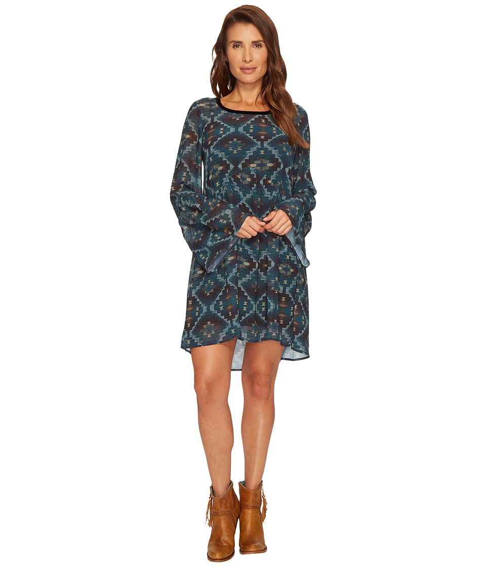 Double D Ranchwear - Royston Mine Tunic/Dress (Multi) Womens Dress