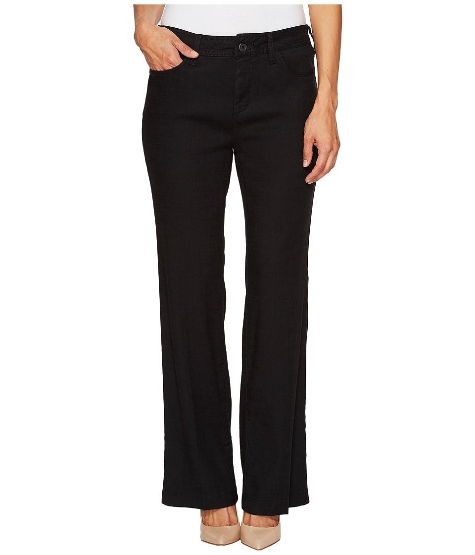 NYDJ Petite Petite Wylie Trousers in Black (Black) Women