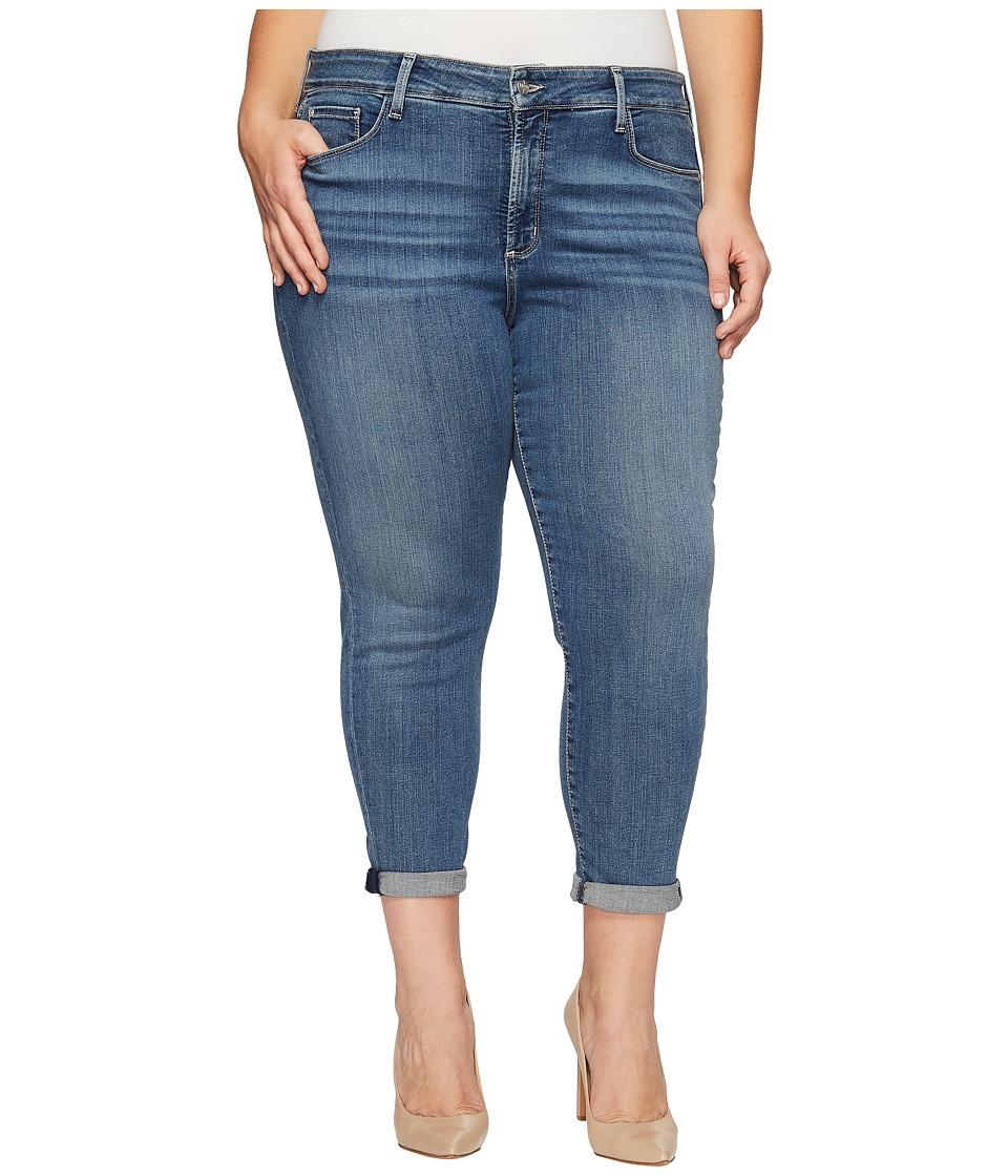 NYDJ Plus Size Plus Size Alina Convertible Ankle in Heyburn Wash (Heyburn Wash) Women