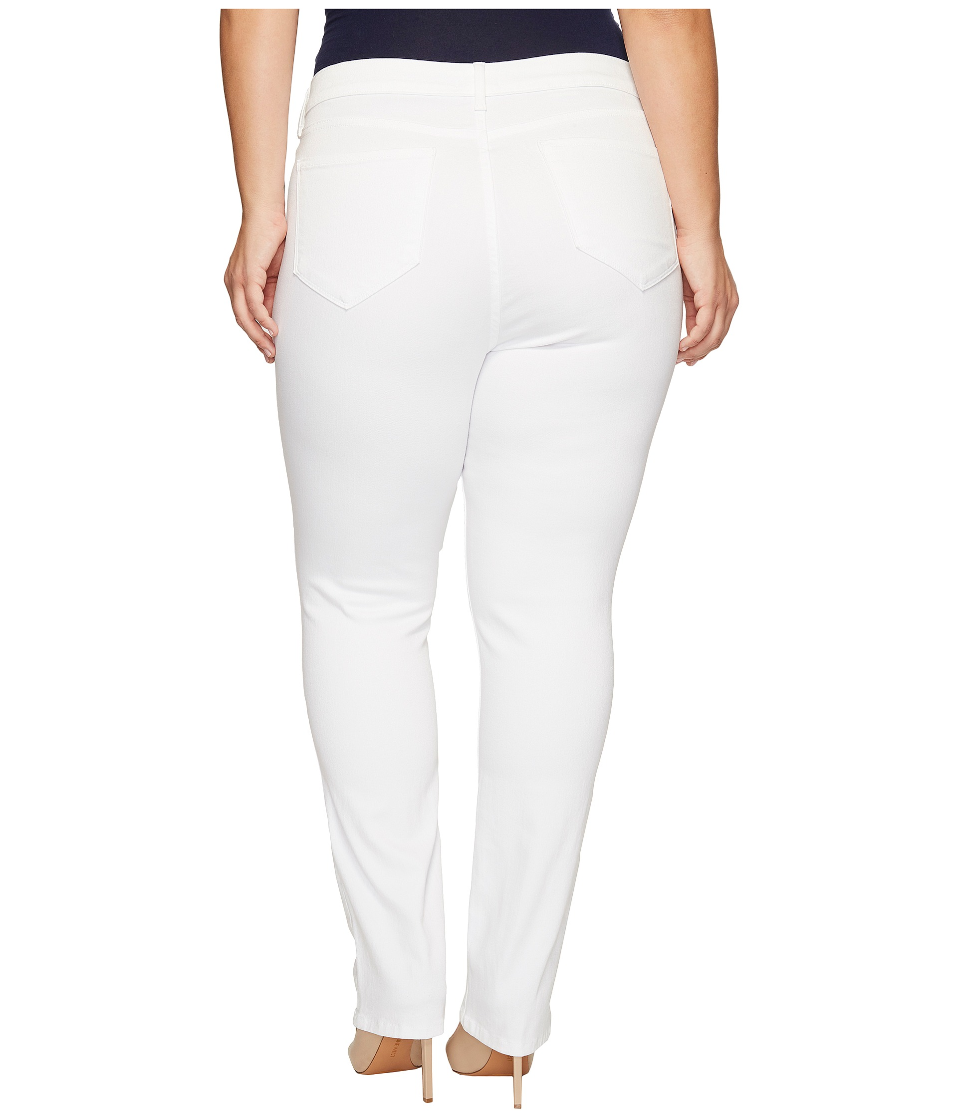 NYDJ Plus Size Plus Size Marilyn Straight Jeans in Endless ...