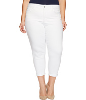 NYDJ Plus Size - Plus Size Alina Convertible Ankle in Optic White