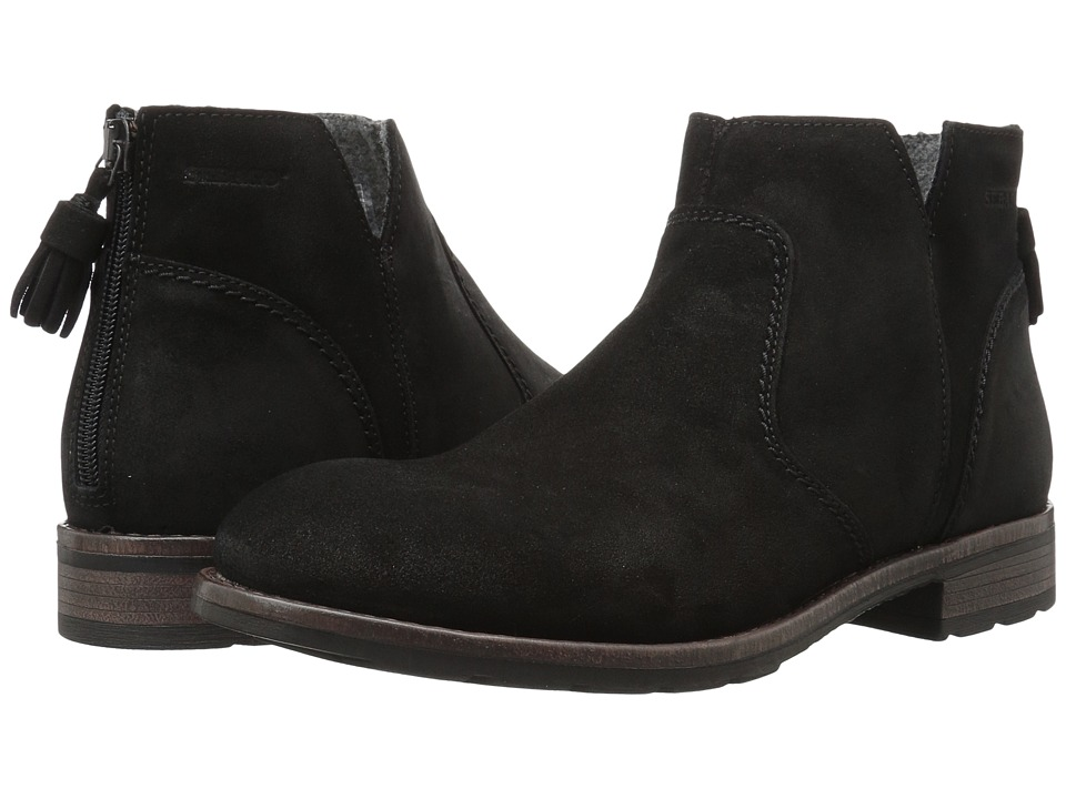Sebago Laney Ankle Boot (Black Waxy Suede) Women