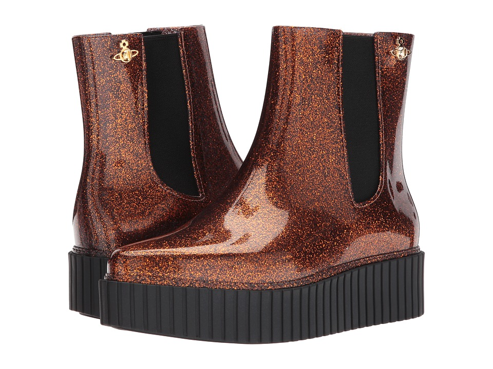 Vivienne Westwood Anglomania + Melissa Chelsea Boot (Glitter) Women