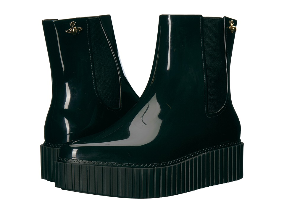 Vivienne Westwood Anglomania + Melissa Chelsea Boot (Black) Women