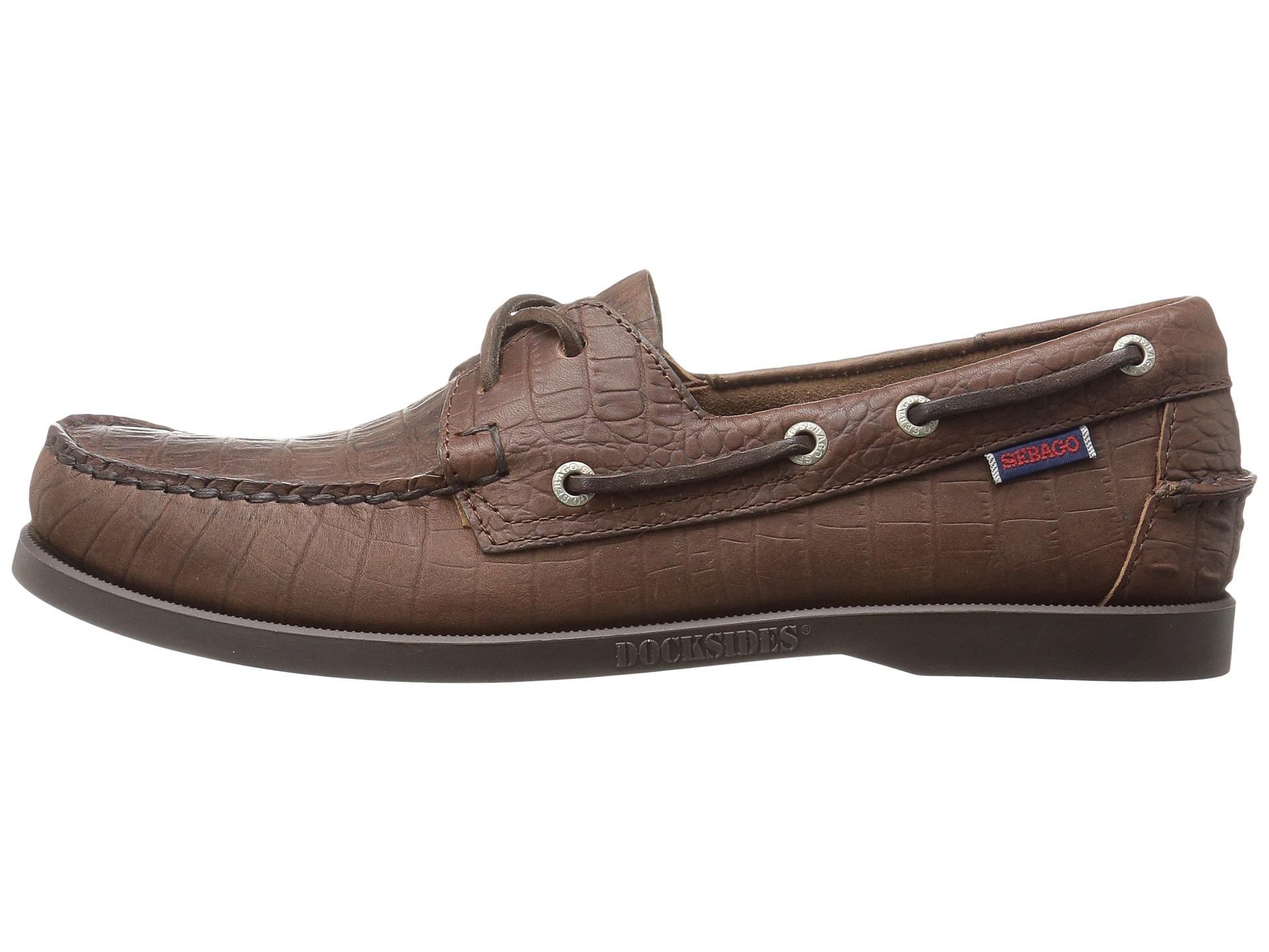 Sebago Dockside  Eyelet Leather Boat Shoes
