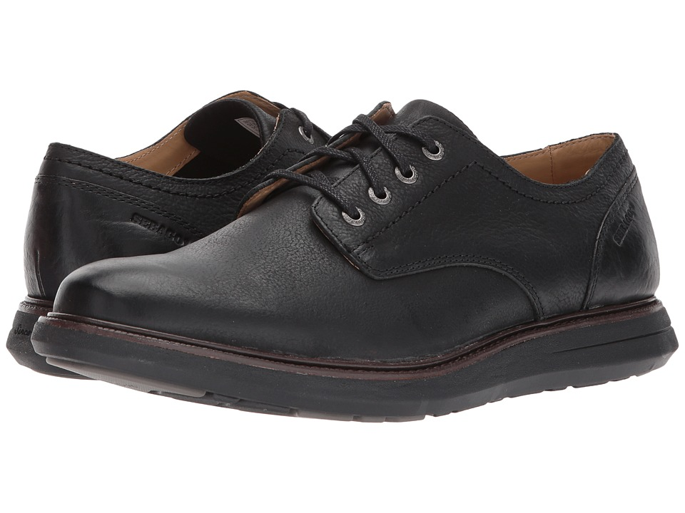 Sebago Smyth Plain Toe (Black Leather) Men