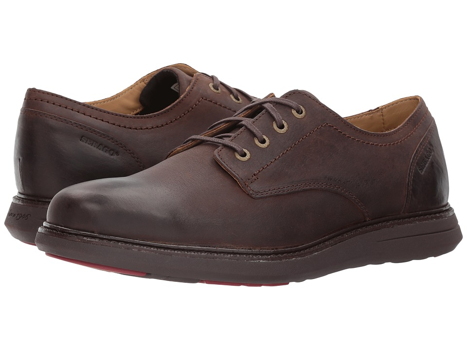 Sebago Smyth Plain Toe (Dark Brown Leather) Men