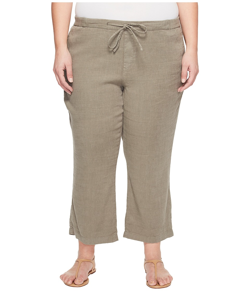 NYDJ Plus Size Plue Size Drawstring Ankle Pants in Sergeant Olive (Sergeant Olive) Women