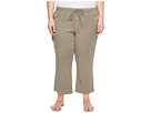 NYDJ Plus Size - Plue Size Drawstring Ankle Pants in Sergeant Olive