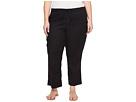 NYDJ Plus Size - Plue Size Drawstring Ankle Pants in Black
