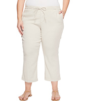 NYDJ Plus Size - Plue Size Drawstring Ankle Pants in Stone