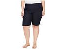 NYDJ Plus Size - Plue Size Christy Shorts in Dark Enzyme Wash
