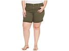 NYDJ Plus Size - Plue Size Avery Shorts in Topiary
