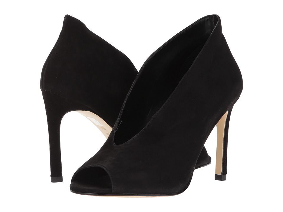 Pelle Moda Elvia (Black Suede) Women