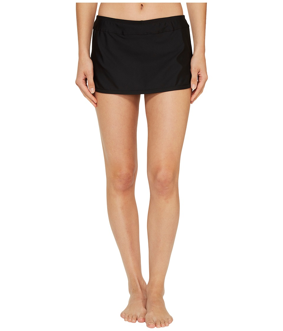 Next by Athena - Good Karma Lotus Skort (Black) Womens Swimwear