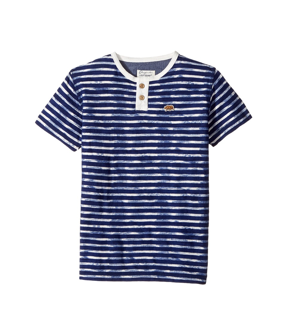 Lucky Brand Kids Rip Curl Henley Top (Little Kids/Big Kids) (Limoges) Boy
