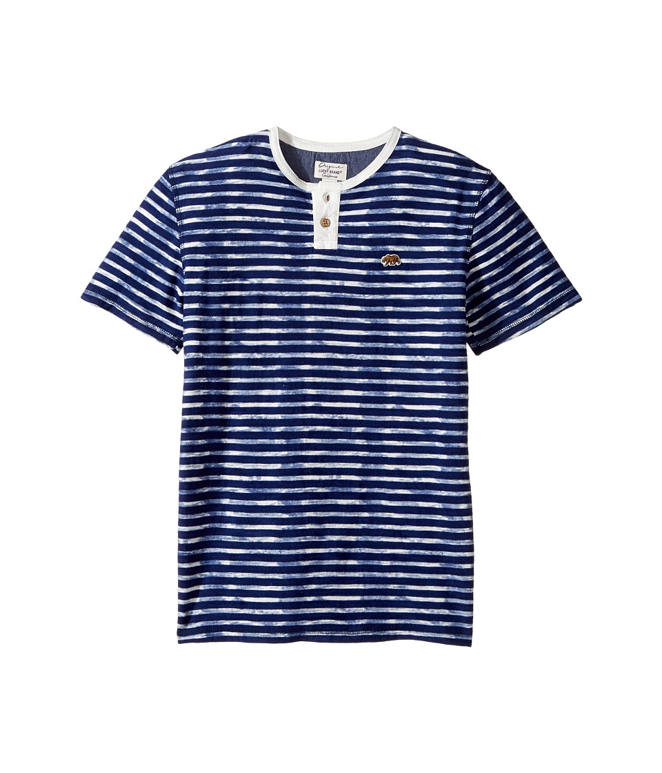 Lucky Brand Kids Rip Curl Henley Top (Big Kids) (Limoges) Boy