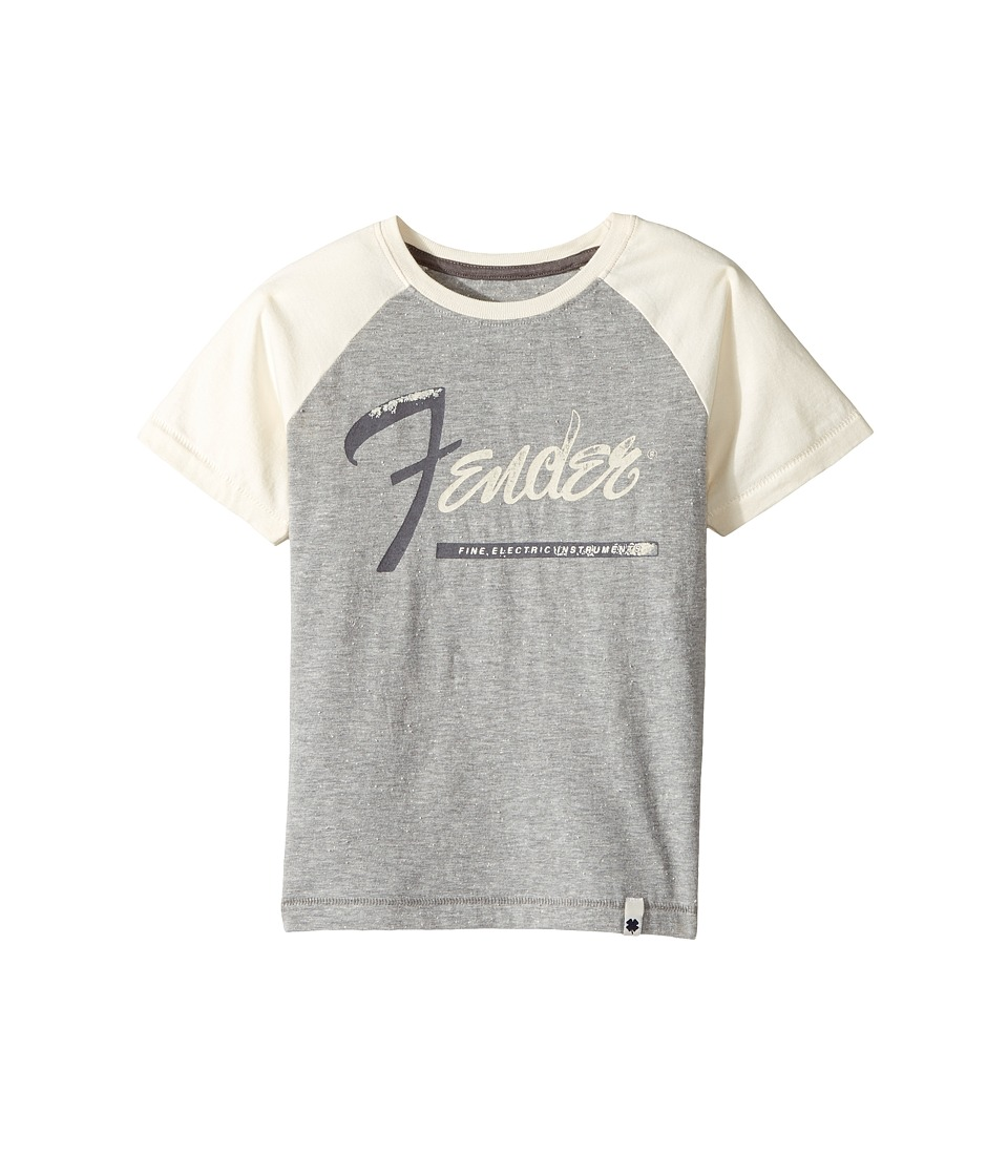Lucky Brand Kids Instrumental Tee (Little Kids/Big Kids) (Heather Light) Boy