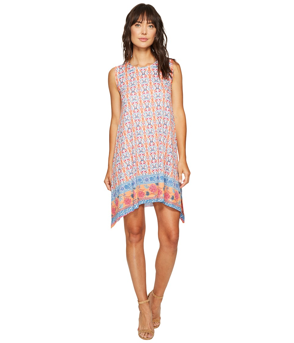 Nally & Millie Nally & Millie - Border Print Dress