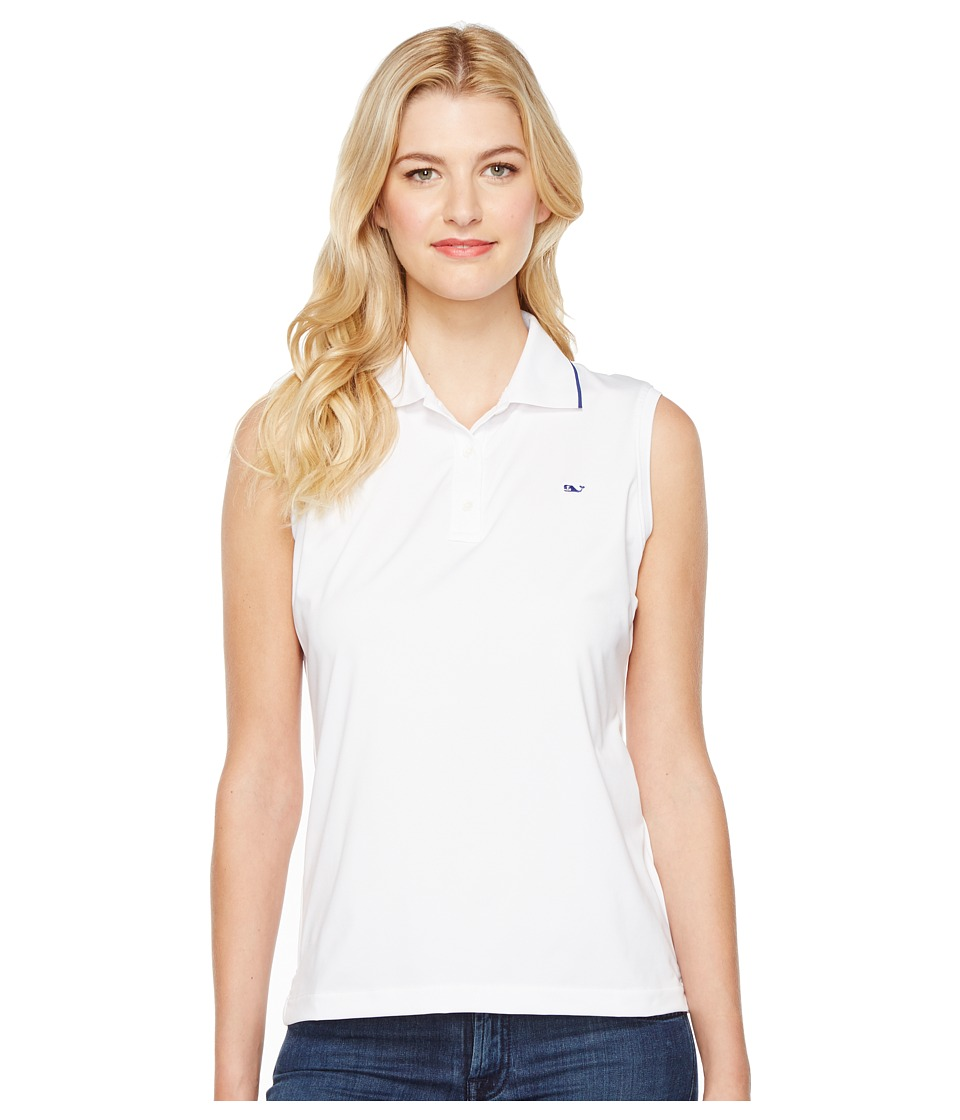 Vineyard Vines Golf Vineyard Vines Golf - Renee Sleeveless Polo
