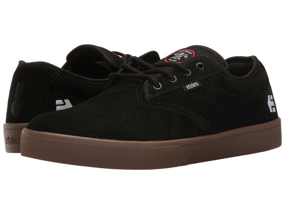 etnies Jameson SL X Flip (Black/Gum) Men