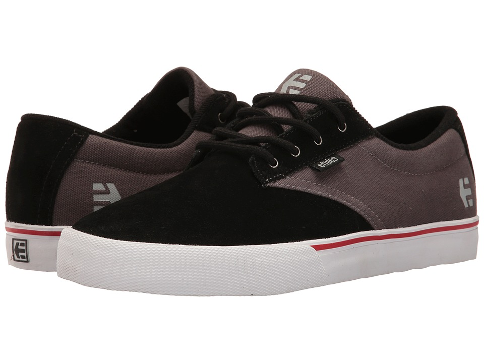 etnies Jameson Vulc (Black/Dark Grey/Silver) Men