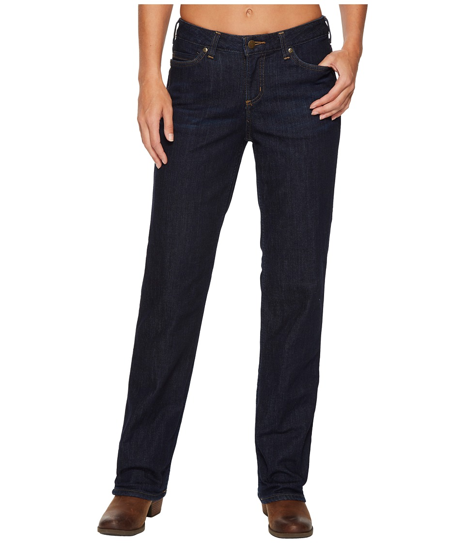 Carhartt Original Fit Blaine Flannel Lined Jeans (Midnigh...