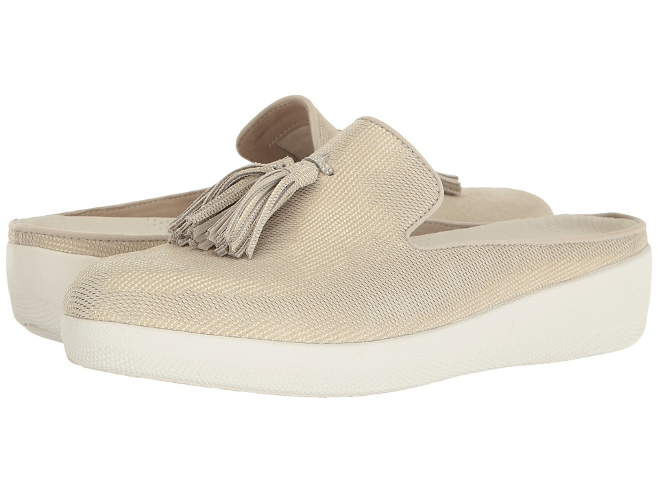 FitFlop Houndstooth Print Superskate Slip-On (Cream) Women