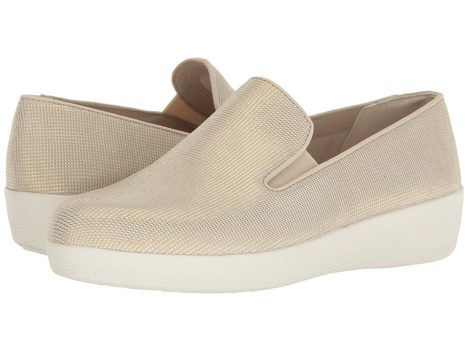 FitFlop Houndstooth Print Superskate (Cream) Women