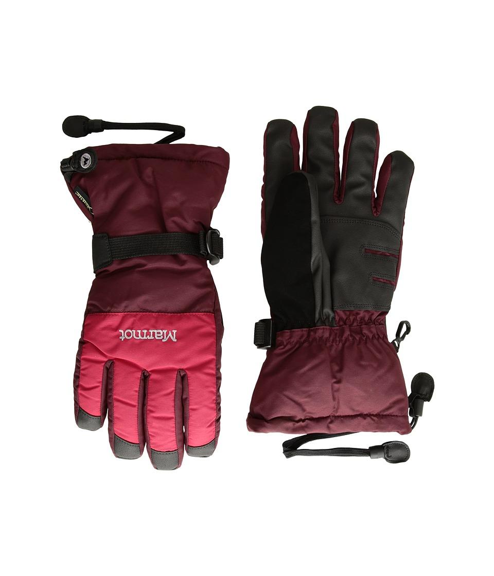 Marmot Granlibakken Gloves (Team Red/Port) Ski Gloves