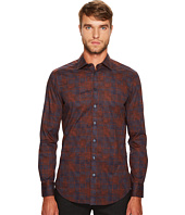 Etro - Stretch Plaid Button Down Shirt