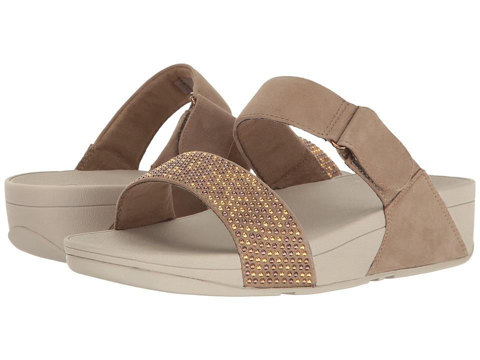 FitFlop Lulu Popstud Slide Sandal (Desert Stone) Women