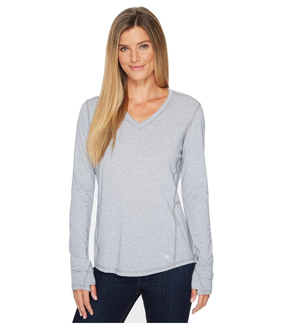 Carhartt - Force Ferndale Long Sleeve T-Shirt (Asphalt Heather) Womens Clothing