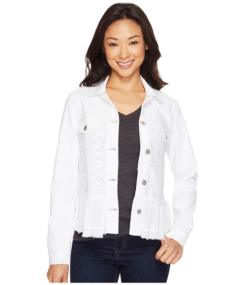Scully Lily Denim and Lace Lightweight Favorite Little Jacket