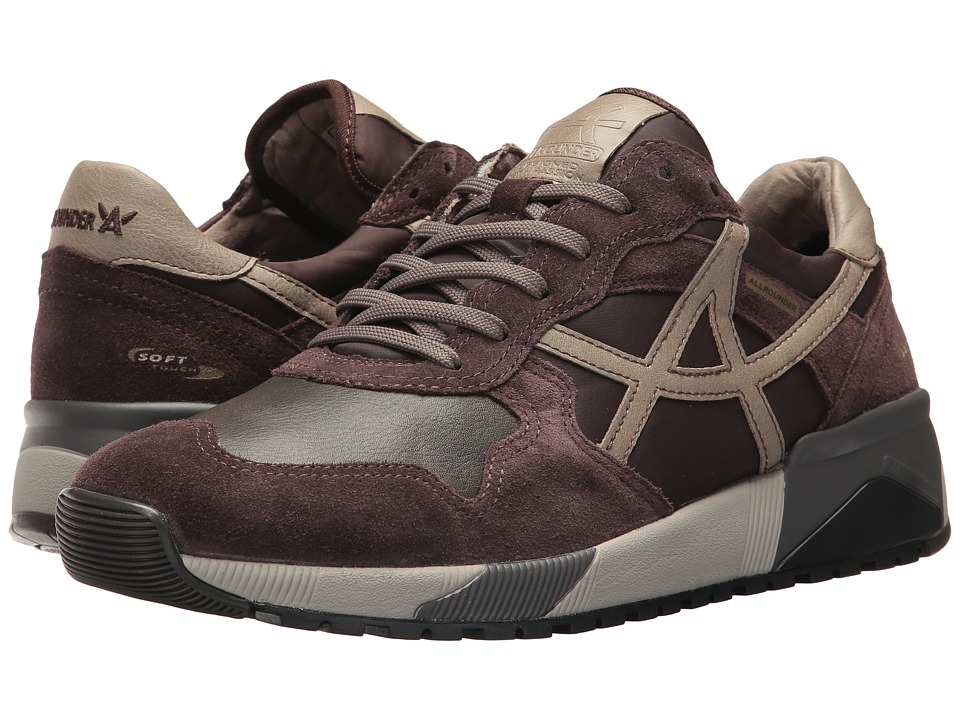 Allrounder by Mephisto - Speed (Dark Brown Suede/T Vintage) Mens Lace up casual Shoes