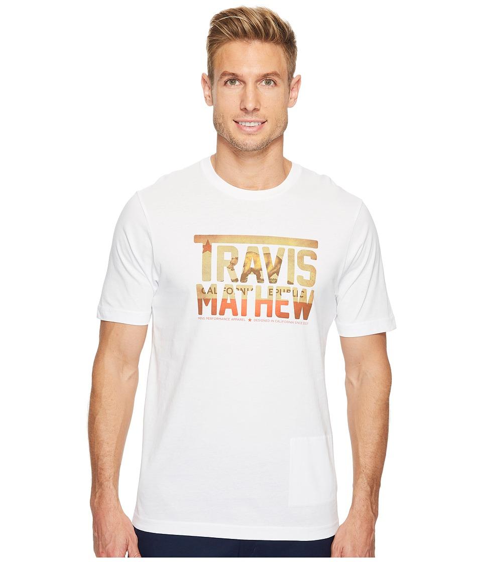 TravisMathew Cali Bear TM (White) Men