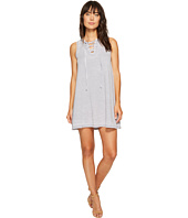Allen Allen - French Terry Tie Front Dress
