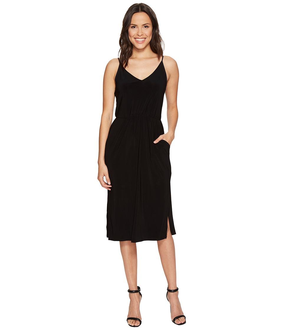 1.STATE - Spaghetti Strap V-Neck Dress