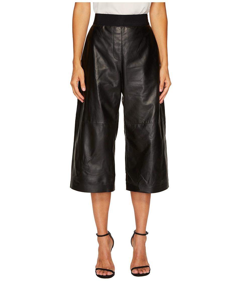 Neil Barrett - Nappa Leather Wide Leg Pants