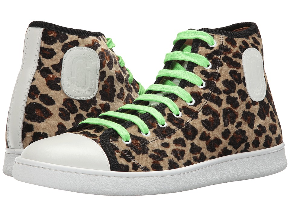 Marc Jacobs Leopard High Top (Leopard Combo) Men