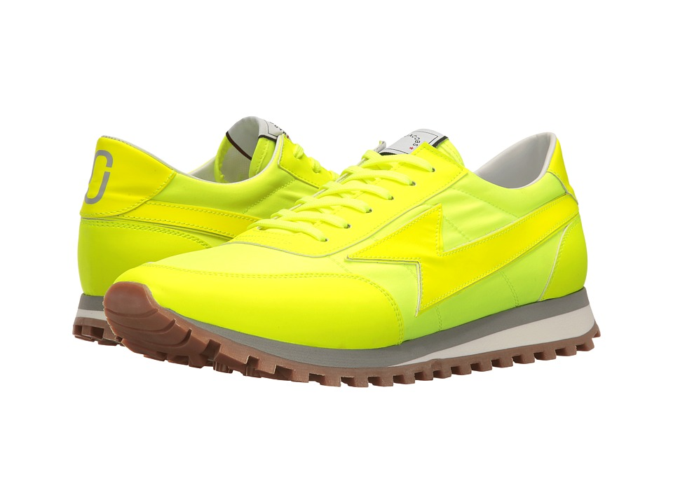 Marc Jacobs Lightning Bolt Runner (Yellow) Men