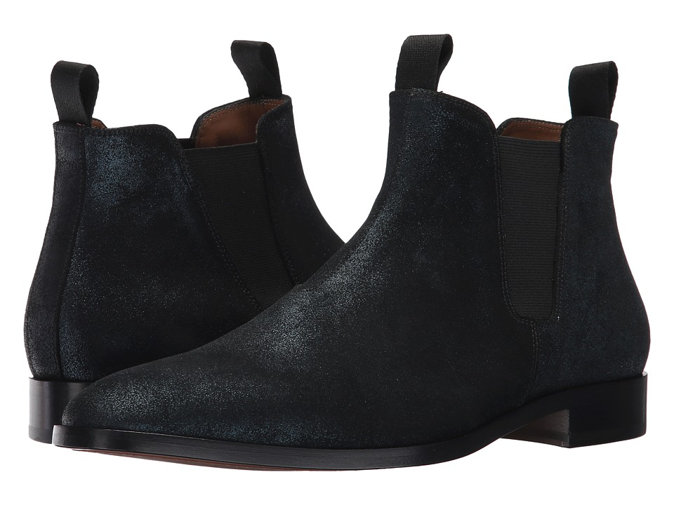 Marc Jacobs Shimmer Chelsea Boot (Midnight Teal) Men