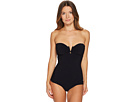 Versace Intero Strapless Maillot One-Piece